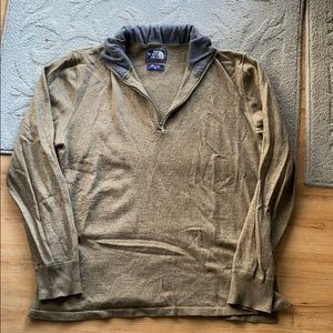 The North Face Wool 1/4 ZIP